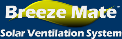 Saving energy is now easier than ever with the all new Breeze Mate Solar Ventilation System and solar fan controller